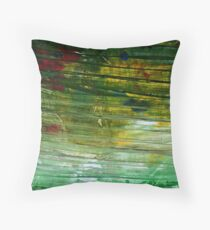 The Countryside, but like, Really Fast Throw Pillow