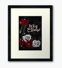 Roses for Christmas Framed Print