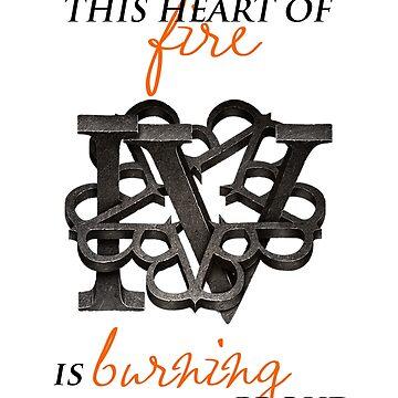 Black Veil Brides - Heart of Fire (BVB IV) by BubblessandMia