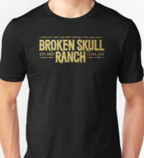 Broken Skull Gold T-Shirt