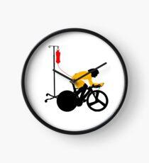 Cyclist Blood Doping Clock
