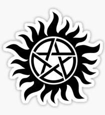 Anti-Possession Tattoo (small) Sticker
