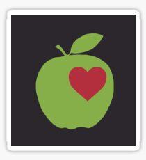 Love Apples Glossy Sticker
