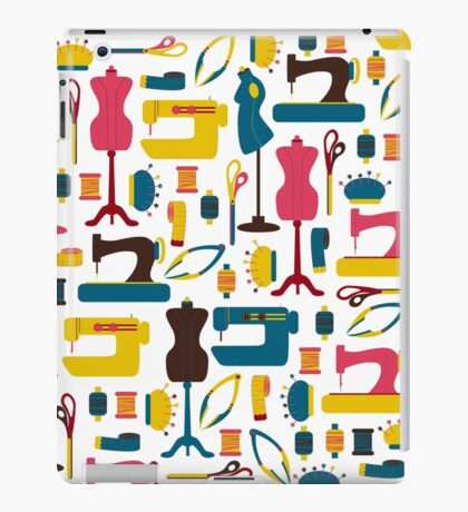 Sewing Accessories iPad Case/Skin