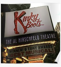 Kinky Boots Marquee Poster