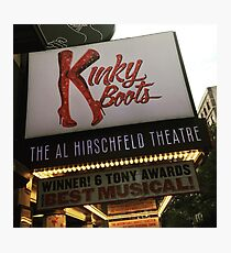 Kinky Boots Marquee Photographic Print