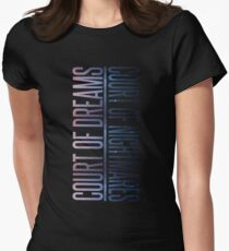 the two courts Women's Fitted T-Shirt