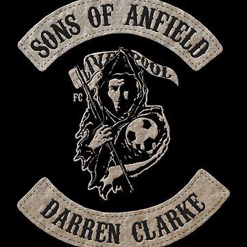 Sons of Anfield -  Famous Fans, Darren Clarke by EvilGravy