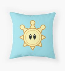 Shine Sprite Throw Pillow