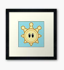 Shine Sprite Framed Print