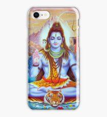Lord Shiva Hindu Indian Art  iPhone Case/Skin