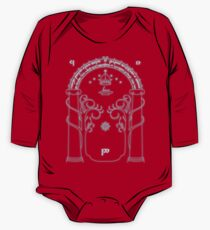The Doors of Durin One Piece - Long Sleeve