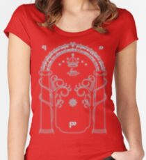 The Doors of Durin Women's Fitted Scoop T-Shirt