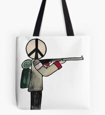 War or Peace Tote Bag