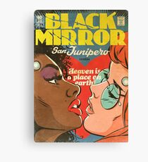 San Junipero Black Mirror Comic Book Art Canvas Print