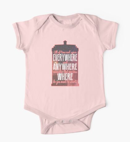All of Time and Space... Kids Clothes