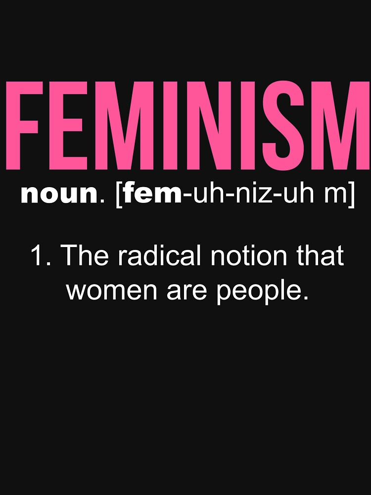 Feminism Definition Cool And Clever Gift For Feminist By LazyGreyBear