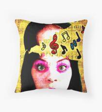 Musical Genius Throw Pillow