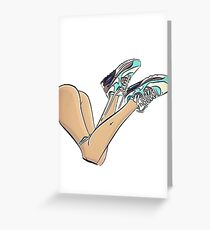 Nike  Greeting Card
