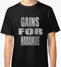 gain for harambe Classic T-Shirt