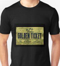 willy wonka golden ticket Unisex T-Shirt