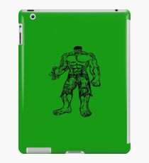 Incredible Hulk Digital Artwork iPad Case/Skin