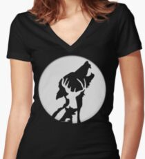 Moony,Wormtail,padfoot,&prongs Women's Fitted V-Neck T-Shirt