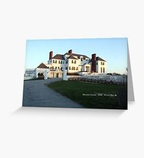 HARKNESS HOUSE WATCH HILL, RI Greeting Card