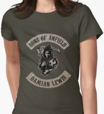 Sons of Anfield - Famous Fans, Damian Lewis T-Shirt