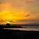 Sitting, Watching the Sun Go Down... by GerryMac