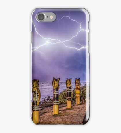 Geelong lightning iPhone Case/Skin