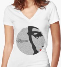 The Courteeners Women's Fitted V-Neck T-Shirt