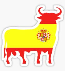 Spanish Bull Sticker