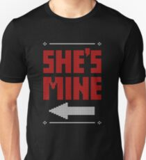 She's Mine He's Mine Matching Couple T-Shirts T-Shirt