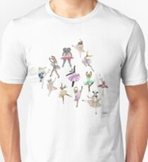 Animal Ballerinas T-Shirt