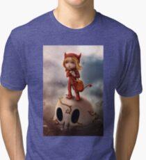 Wickedly Drawn Tri-blend T-Shirt