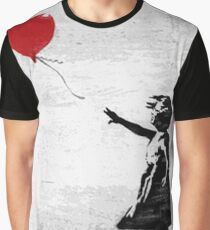 Banksy - Girl with a balloon Graphic T-Shirt