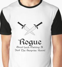 DnD - Rogue Graphic T-Shirt