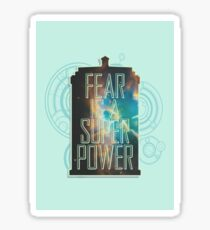 FEAR. Sticker