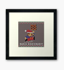Mario Brickmas!!! Framed Print