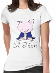 Alexander Ham-ilton Womens Fitted T-Shirt