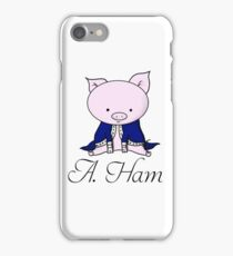 Alexander Ham-ilton iPhone Case/Skin