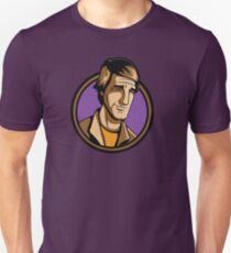 Time Travelers, Series 3 - Dr. Sam Beckett (Alternate) Unisex T-Shirt