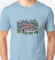 Old Rusty Chevy Pickup Unisex T-Shirt