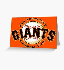 San Francisco Giants | Sports Greeting Card