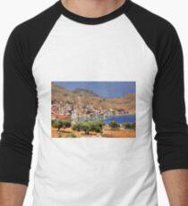 Village view Men's Baseball ¾ T-Shirt
