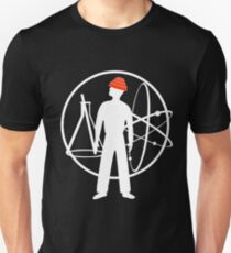 Duty Now For the Future - White on Clear Unisex T-Shirt