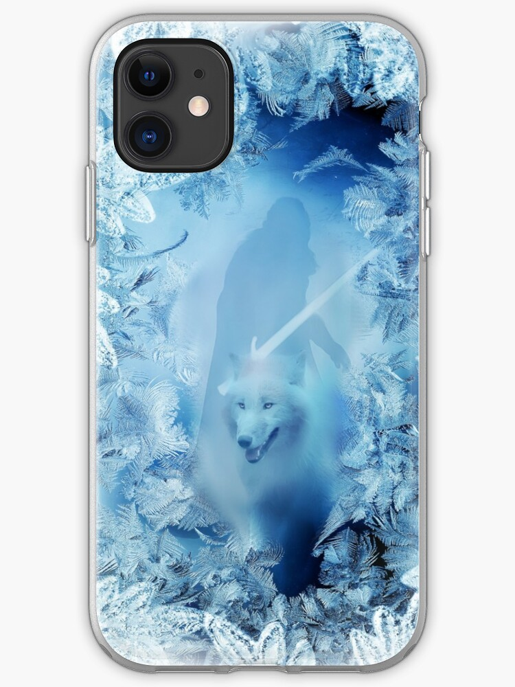Game of Thrones Winter is here iphone case
