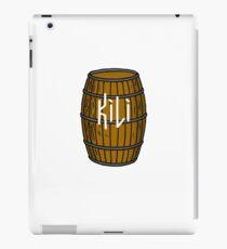 Kili in barrel iPad Case/Skin