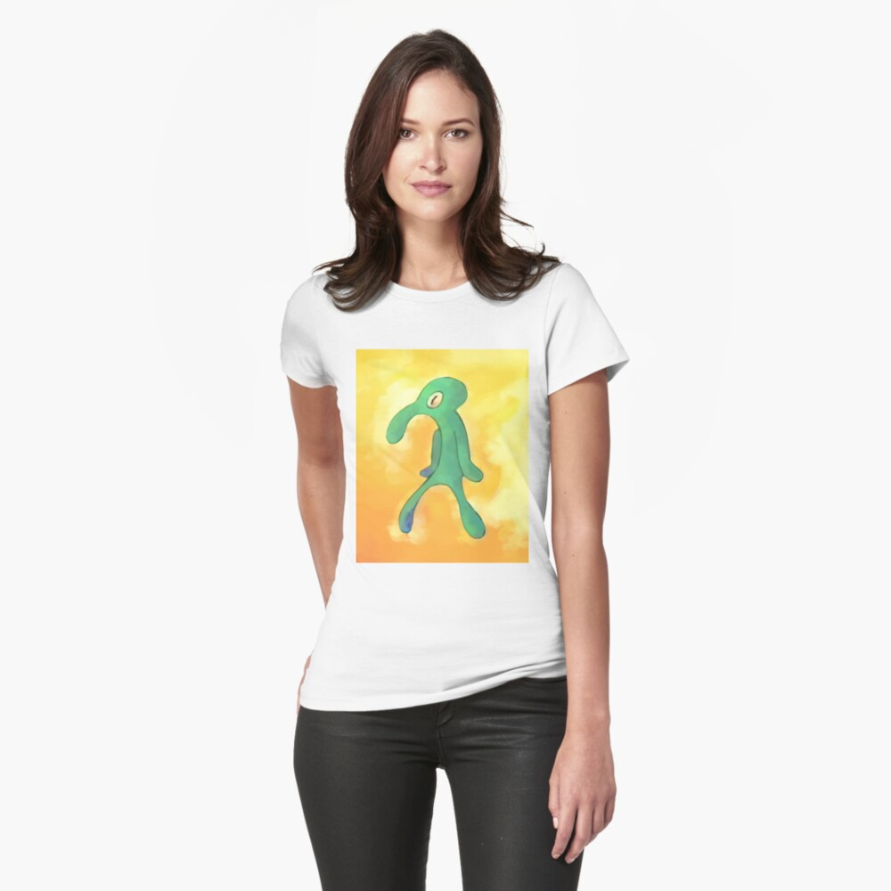High Res Bold and Brash Repaint Fitted T-Shirt